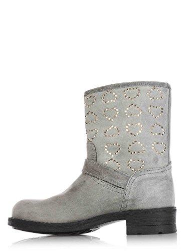 Twin Shoes Boots Set Bimba Stivali Grigio Kids 3851n Biker P7CZwPgTq