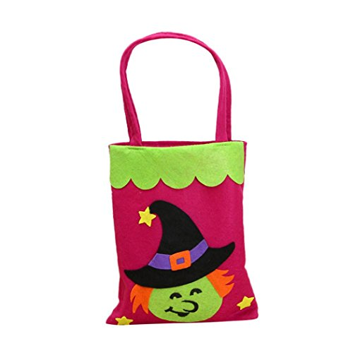 Grayscale Costume Eyes (Aitena Handmade Funny Pumpkin Witch Interesting Candy Bags For Halloween (C))