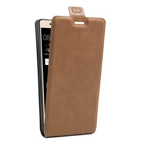 Funda Huawei P9 Lite,Manyip Caja del teléfono del cuero,Protector de Pantalla de Slim Case Estilo Billetera con Ranuras para Tarjetas, Soporte Plegable, Cierre Magnético B