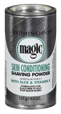 SoftSheen-Carson Magic Skin Conditioning Shaving Powder, 4.5 oz - Magic Shave Shaving Powder