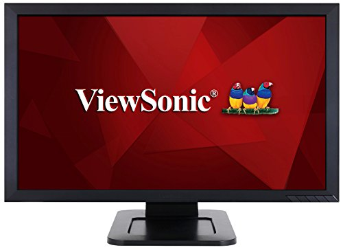 ViewSonic TD2421 24 Inch 1080p Dual-Point Optical Touch Screen Monitor with HDMI and DVI (Best Touch Screen Monitor)