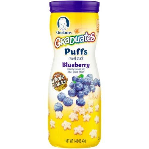 Gerber Puffs Blueberry (Pack of 14)