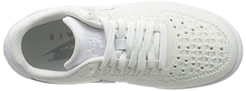 Sport Chaussures de Blanc Blanc Blanc Femme Af1 Nike W Low Flyknit Turquoise IxwqqC6YX