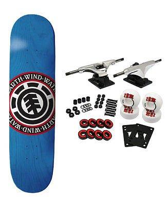 Skateboard Complete Varied Seal 8.1 Blue