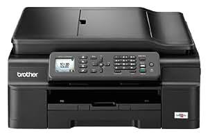 Brother MFCJ470DW - Impresora, copiadora, escáner y fax de inyección de tinta (A4, WiFi, impresión automática por las 2 caras), Negro