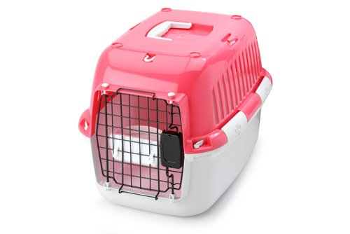Europet Bernina Explorer 60 Sport Edition Transport/Box, 57 by 38 by 38cm, Red/Pink