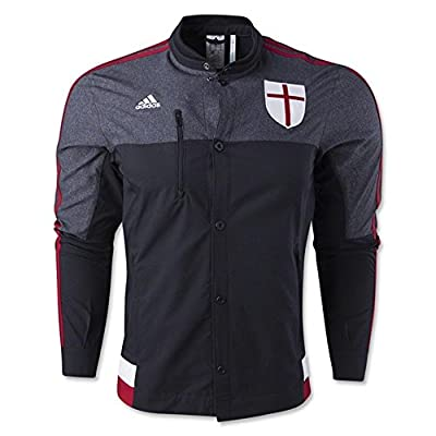 Adidas AC Milan Anthem Black Jacket