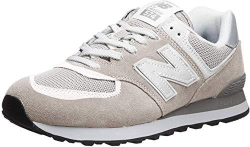 New Balance Men's 574 V2 Evergreen Sneaker, Nimbus Cloud/Nimbus Cloud, 4 M US