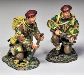 Thomas Gunn Miniatures PARA010 British Two Inch Mortar Set with Paratrooper Crew