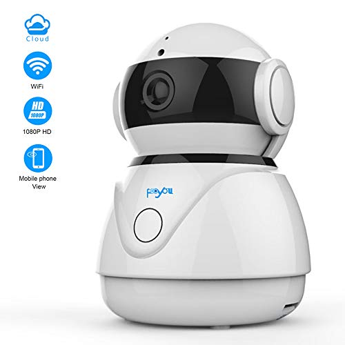 Fooyou Wireless WiFi Camera,1080P Home Surveillance IP Camera,Indoor Camera for Baby/Elder/Pet/Monitor,Pan/Tilt/Night Version/Voice Function/Cloud Service Review