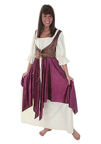 Plus Size Tavern Lady Costume 4X