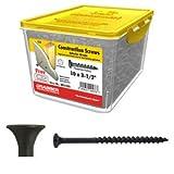 GRABBER 10 x 3-1/2'' Coarse Drywall Screw, Scavenger Head - 5 Lbs.