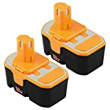 ENERMALL 2 Pack 18V 3.0Ah Ni-Mh Replacement Cordless Power Tool Battery for Ryobi One Plus P100 P101 ABP1801 1322401 1400672 130224007 130224028 130255004 Reviews