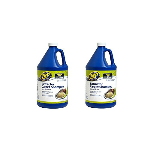 - Zep Commercial Zep Extractor Carpet Shampoo, 128 oz (2 Pack)