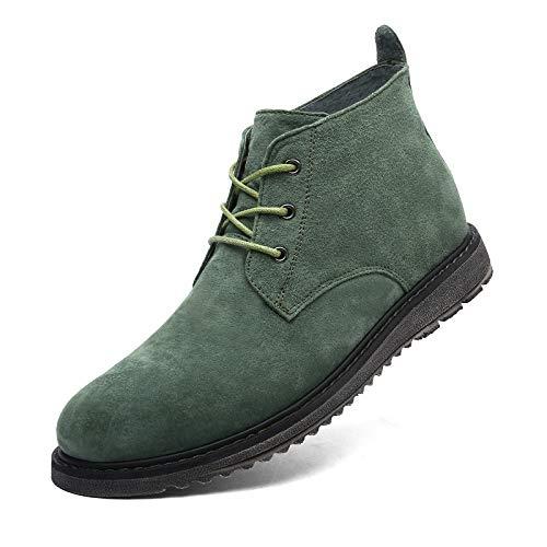 LOVDRAM Männer Schuhe Herbst Und Winter Männer Einzelne Schuhe Martin Stiefel In Die Einzelne Stiefel Herrenschuhe Leder Freizeitschuhe Für Männer
