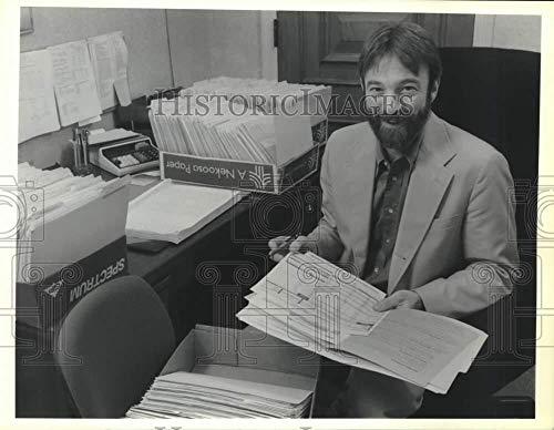 1990 Press Photo Darryl Anderson, LeMoyne College Financial Aid Director