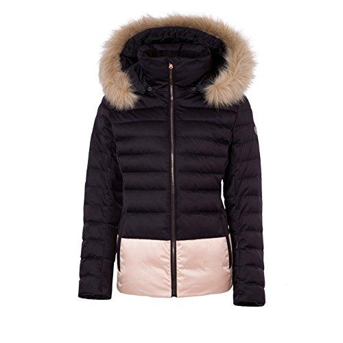 FERA Women Julia Parka With Faux Fur (Fera White Jacket)