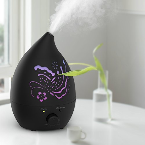 a aromacare Humidifiers for Baby, Essential Oil Diffuser 1.3L/0.35Gallons Waterless Automatic Shut-Off and Night Light Function for Large Room Office Baby Spa by a aromacare (Image #3)
