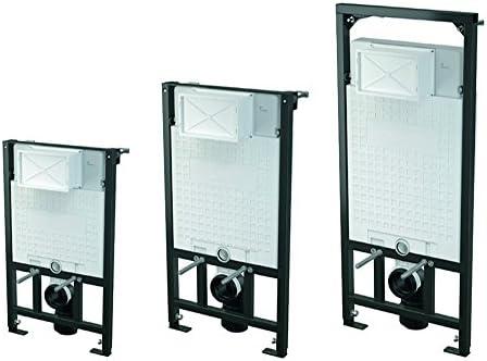 WC Vorwandelement zur ECKMONTAGE, Unterputzspülkasten besonders gut isoliert, Bauhöhen 85 100 120 cm, Größe:85cm