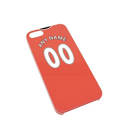 Manchester Man UTD United personalized Gift Football Shirt Style Phone Cover / Case / Shell for iPhone 5/5s - High Quality Case with High Definition - Football Shirt Man Utd