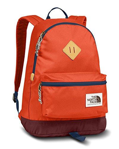 (The North Face Berkeley Backpack (Tibetan Orange/Shady Blue))