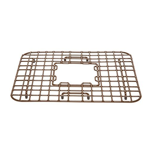 Sinkz|#Sinkology SG005-18 Sinkology Sullivan 18 In. copper Kitchen Sink Bottom Grid Heavy Duy Vinyl Coated In Antique Brown, by Sinkology by Sinkology