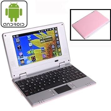 Wewoo Ordenador portátil Android 7.0 7 Pulgadas EPC 701 procesador: Via WM8880 Dual Core 1.5 GHz Rosa: Amazon.es: Electrónica