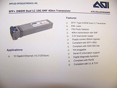 Sfp 10G Dw 42 94  Arista Compatible   Factory New