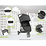 Baby Jogger City Mini 2, GT2 & City Elite 2 Single Pushchair Car Seat Adapter | For Maxi-Cosi, Kiddy & BeSafe Infant Car…