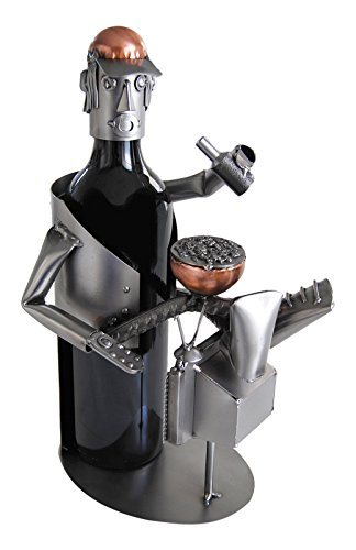 H & K Sculptures Couch Potato Water Bottle Holder/Wine Caddy, null