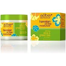 Alba Botanica Hawaiian, Aloe & Green Tea Oil-Free Moisturizer, 3 Ounce (Pack...