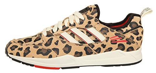 Femmes noir Super brun Adidas 2 G95537 W Sneakers Beige 0 Tech Zqxgxd8w