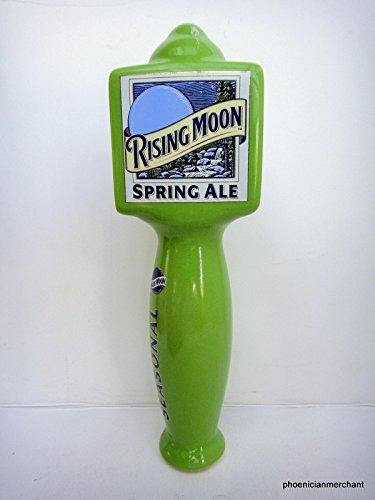 Blue Moon Spring Ale Ceramic Large 3 Sided Pub Beer Keg Tap Lever Knob Handle - Ale Tap Knob