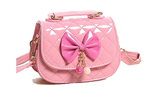Fineder Little Girls Purse, Toddler Mini Cute Princess Crossbody Bag Handbags Shoulder Bag Purses, Valentine's Gifts for Girls