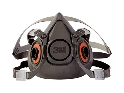 3M Half Facepiece Reusable Respirator 6300/07026(AAD), Respiratory Protection, Large (Pack of 1) 3 Meter Welding Paper