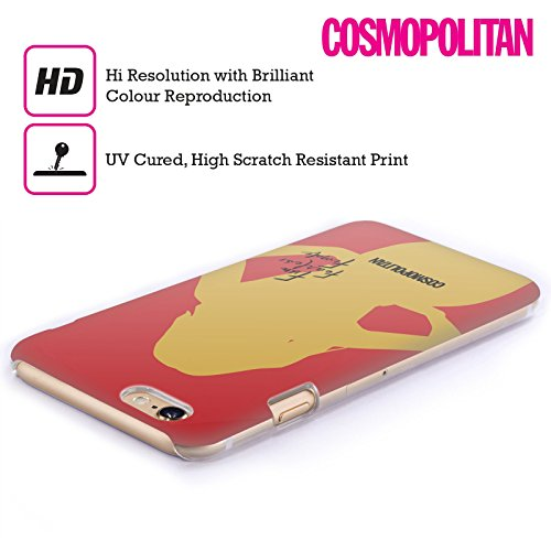 Official Cosmopolitan Cover Girl 3 Fun Fearless Female Hard Back Case for Apple iPhone 5 / 5s / SE