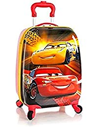 Disney Kids Multicolored 18 Inch Carry-on Spinner Luggage - Cars