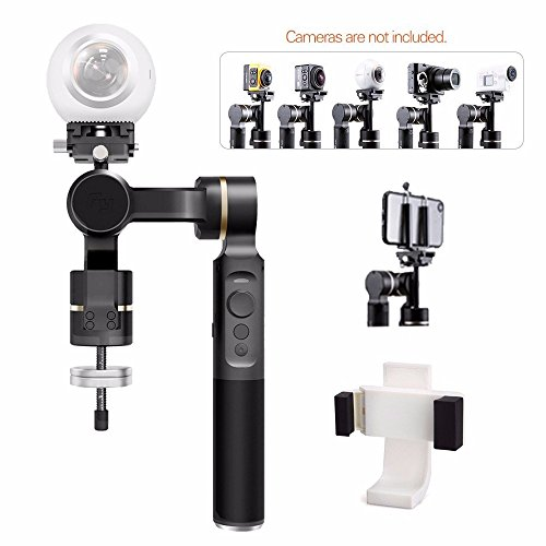 FeiyuTech G360 Panoramic Camera Gimbal for RICOH THETA SC for INSTA360 NANO for Samsung Gear 360 for NIKON Key Mission GOPRO for Sony FDR-X3000 for Xiaomi Mijia for 4K Panoramic Cameras Action Cameras by Feiyu