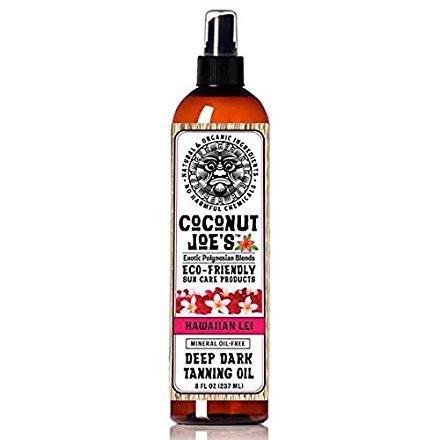 Hawaiian Tanning Coconut Joes Chemicals