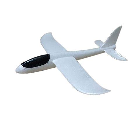 aeaf95fed2 Mioloe Flying Glider Aviones Lanzamiento de Espuma Avión Modo Lanzamiento  de la Mano Avión de Planeador