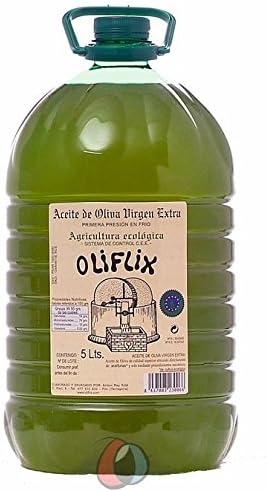 2 garrafas pet 5 l - Oliflix ECOLOGICO con D.O. Aceite de Terra ...
