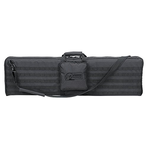 (VooDoo Tactical 15-0171001000 Single Weapons Case, Black, 44