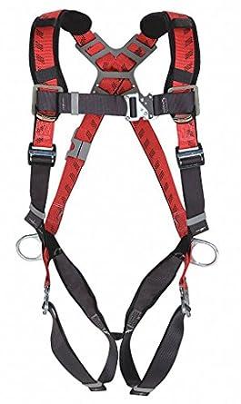 MSA Safety 10041615 technacurv chaleco estilo arnés de, lengua ...
