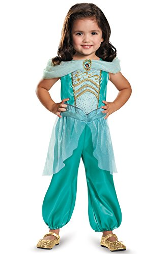 (Jasmine Toddler Classic Costume, Medium)