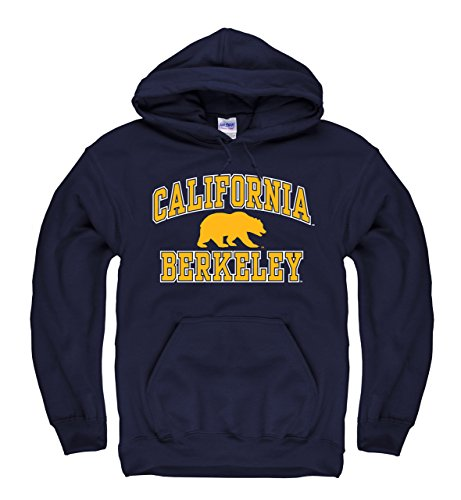 - Campus Colors Cal Golden Bears Adult Arch & Logo Gameday Hooded Sweatshirt - Navy, Medium