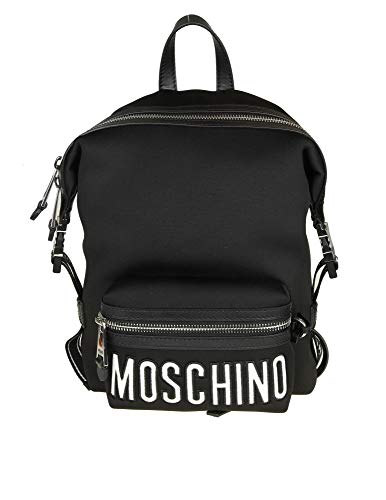 Moschino Women's B760382063555 Black Polyester Backpack ()