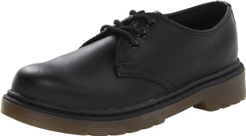 Dr. Martens Boy's Everley Oxfords,Black,3 M UK Little Kid / 4 D(M) US for $<!--$54.95-->