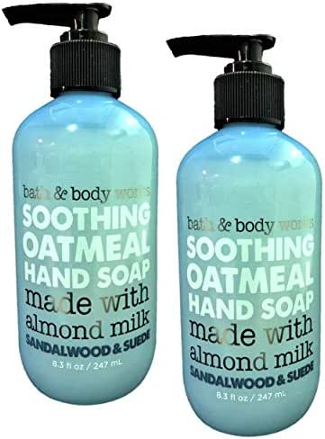 Hand Soap: Bath & Body Works Soothing Oatmeal