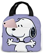 OAbear Snoopy hug Lunch Bag Insulated Cooler Lunch Tote Bag Leakproof Reusable Lunch Bags for Women and Men, Perfect for Work Office School Picnic