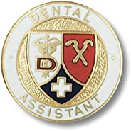 Prestige Medical Emblem Pin, Dental Assistant